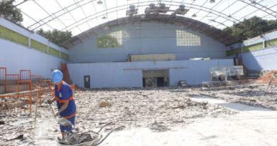 Ginásio da Vila Olímpica será revitalizado