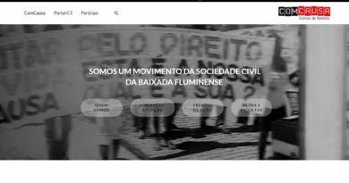ComCausa relançará a sua página institucional