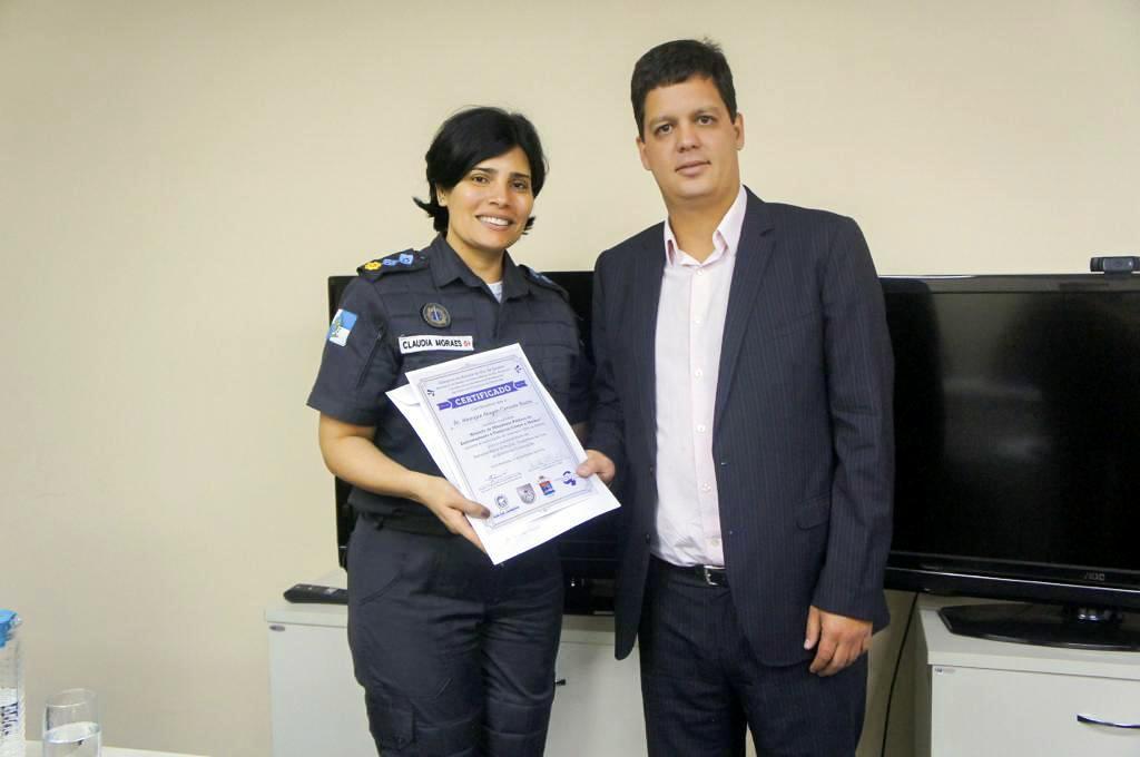 MPRJ participa de capacitação a PMs no programa Patrulha Maria da Penha