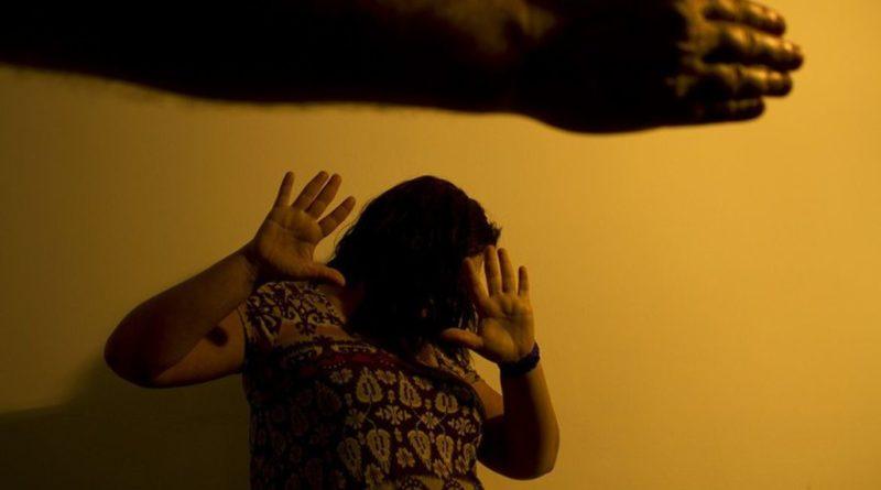 Mulheres vítimas de violência doméstica