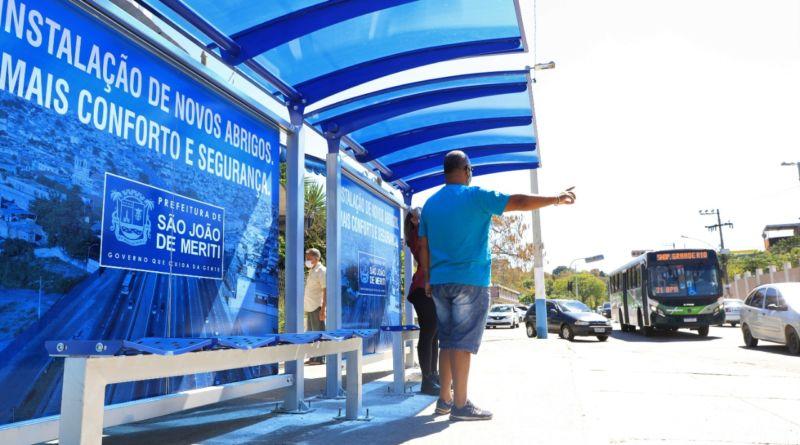 Novos pontos de ônibus em São João de Meriti