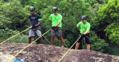 2020 – 11 (Novembro) 09 - Kafango realiza rapel em parque ecológico (2)