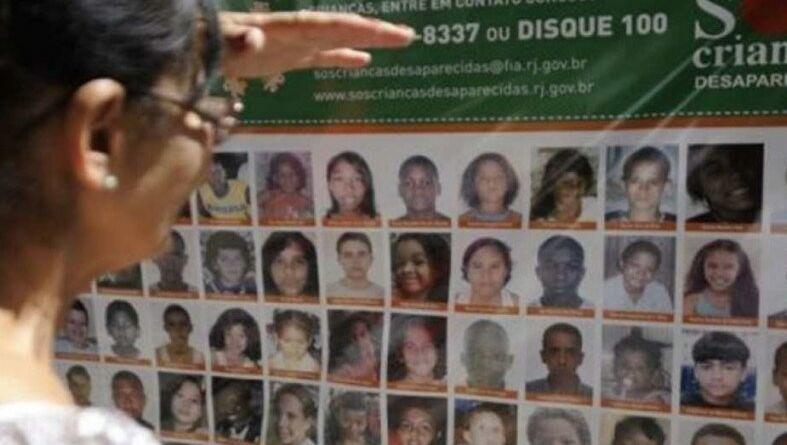 SMS crianças desaparecidas