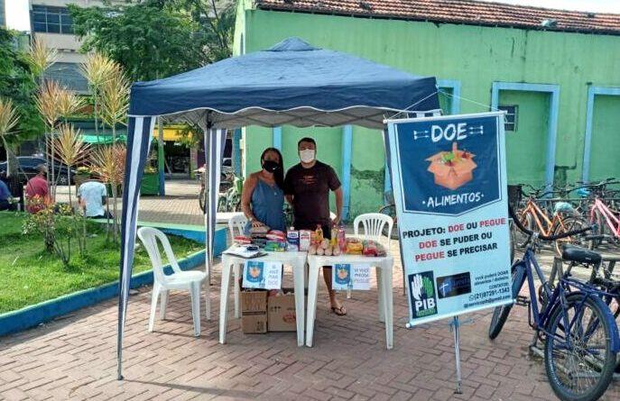 Igreja Batista de Paracambi realiza projeto Doe ou Pegue