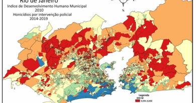 Desigualdades sociais e violência na Metrópole Carioca Mapa desilguadade pontos