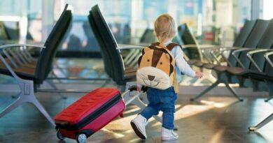 Crianças Viagem