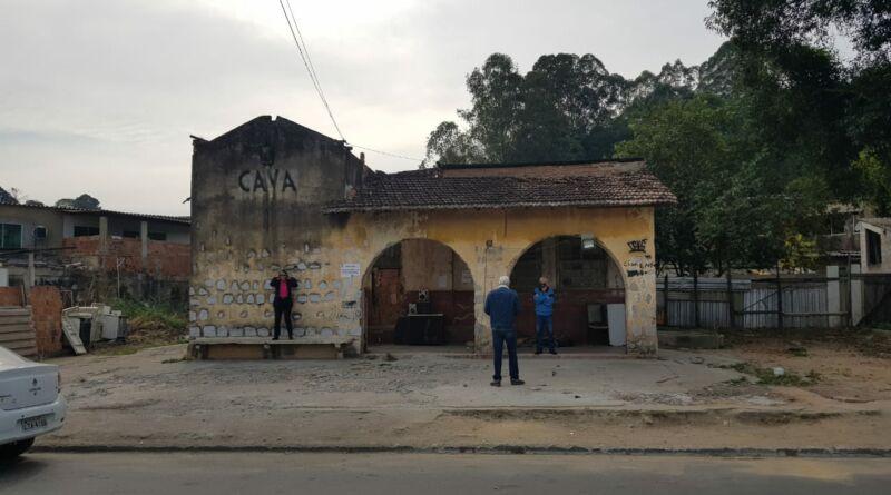 Estação Ferroviária de Vila de Cava recebe vistoria para futuras melhorias