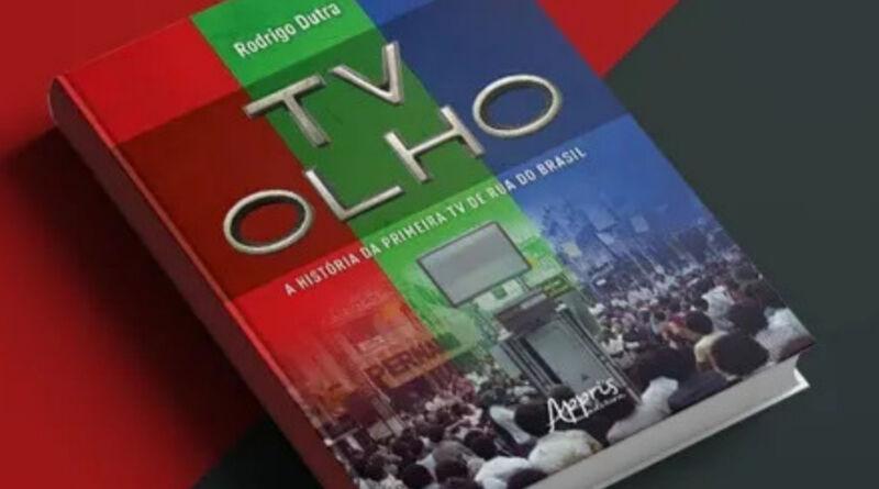 Historiador de Caxias lança livro sobre a Primeira TV de Rua Brasileira