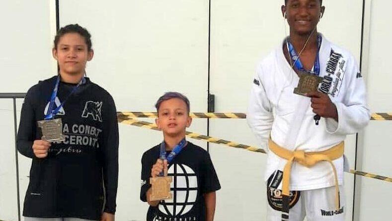 Paracambi se destacam no campeonato mundial de jiu-jitsu