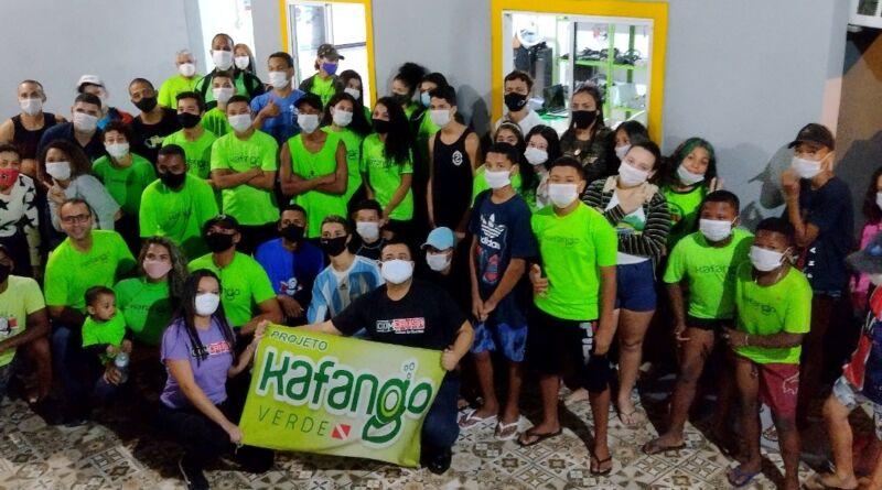 Turma João Cândido é lançada no Kafango Verde