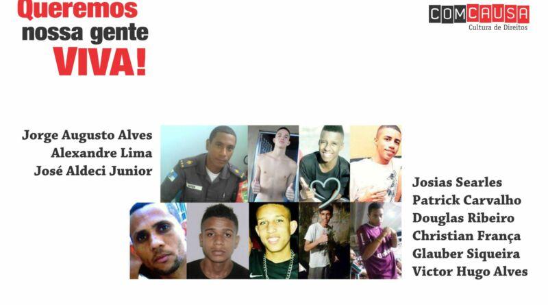 Chacina da Chatuba 2012 ComCausa