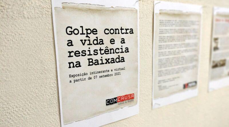 Ditadura, Golpe, exposição, ComCausa