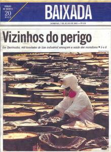 Reportagem - CENTRES O Globo Baixada 07 06 2002 - 2 Acervo Adriano Dias ComCausa
