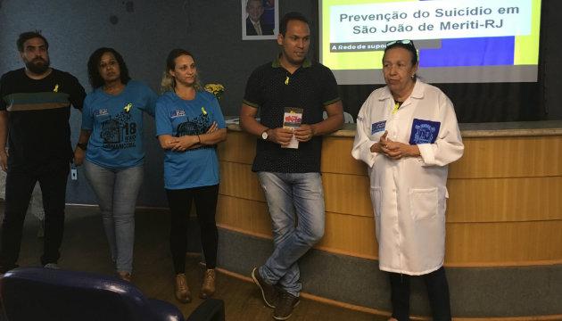 São João de Meriti realiza atividades sobre o Setembro Amarelo