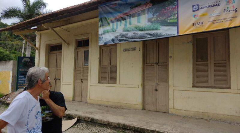 Restauração da antiga Estação Ferroviária de Tinguá